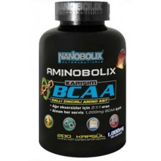 NANOBOLİX Aminobolix Bcaa 200 Kapsul 1000 Mg