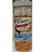 "DR.QUICK""S OMEGA-3 FISH OIL 1000mg 200 Softgel"