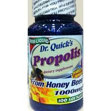 DR.QUICKS PROPOLIS 1000mg 100 Softgels