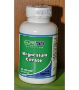 Nutrivita Nutrition Magnesium Citrate 250 mg 120 Tablet